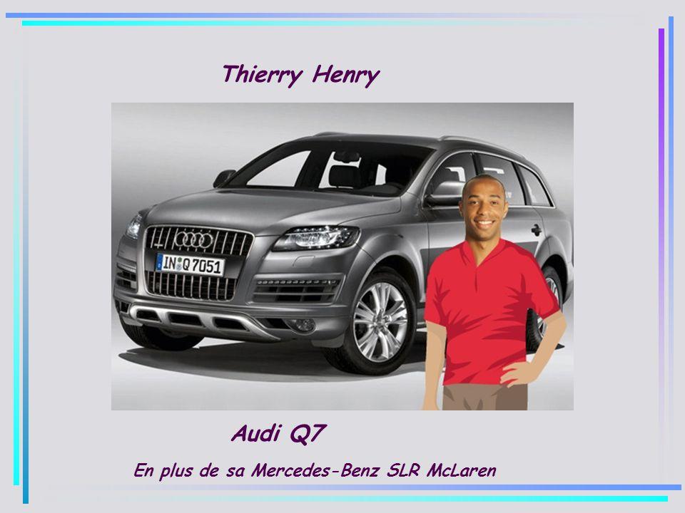 Lionel Messi Audi Q7
