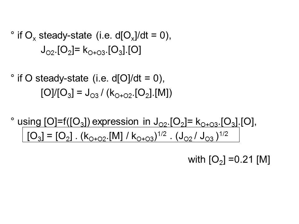 ° if O x steady-state (i.e.