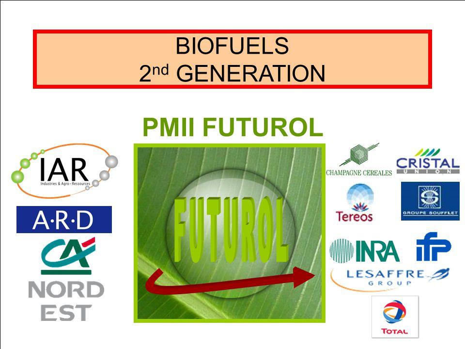 BIOFUELS 2 nd GENERATION PMII FUTUROL