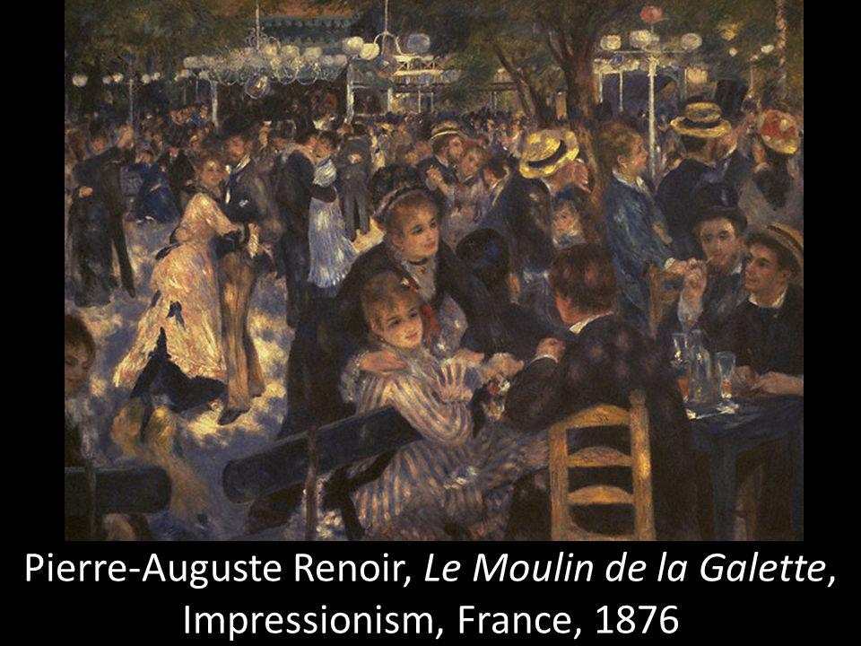 Pierre-Auguste Renoir, Le Moulin de la Galette, Impressionism, France, 1876