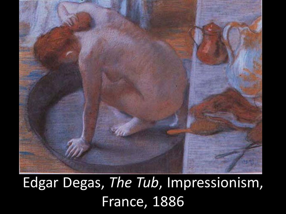Edgar Degas, The Tub, Impressionism, France, 1886