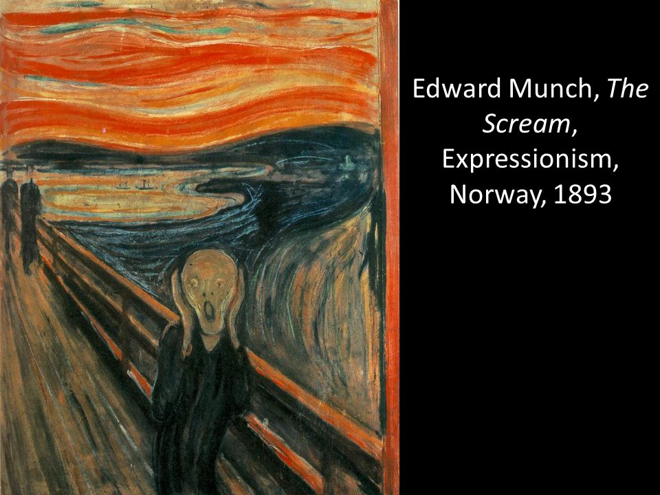 Edward Munch, The Scream, Expressionism, Norway, 1893