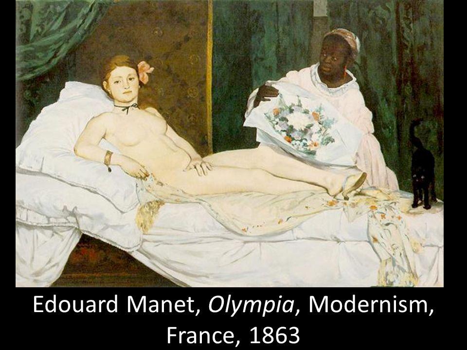 Edouard Manet, Olympia, Modernism, France, 1863
