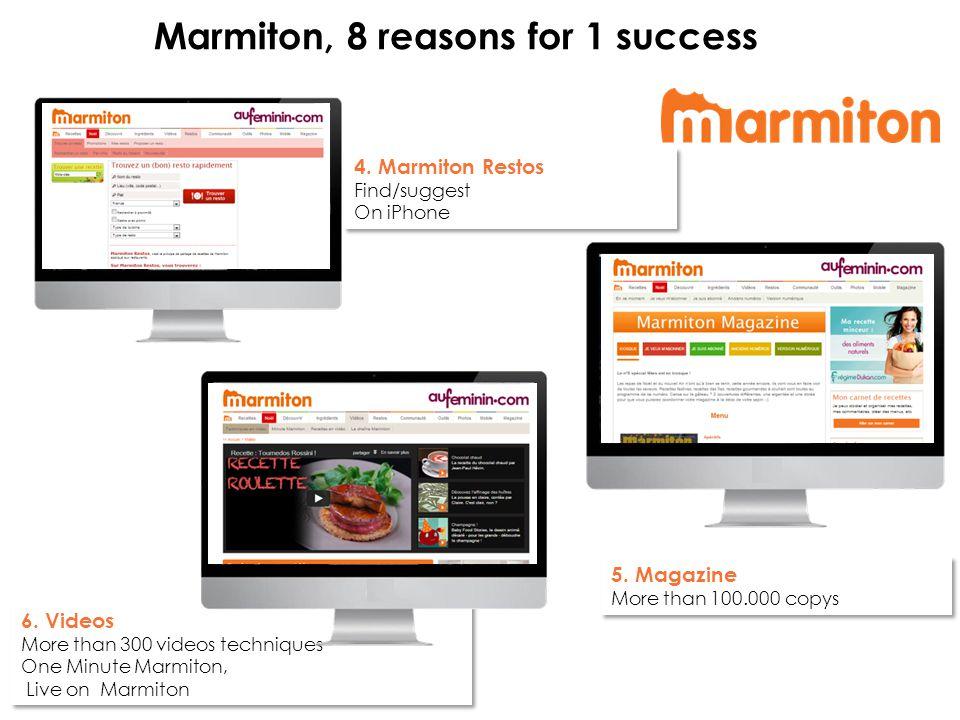 4. Marmiton Restos Find/suggest On iPhone 4. Marmiton Restos Find/suggest On iPhone 5.