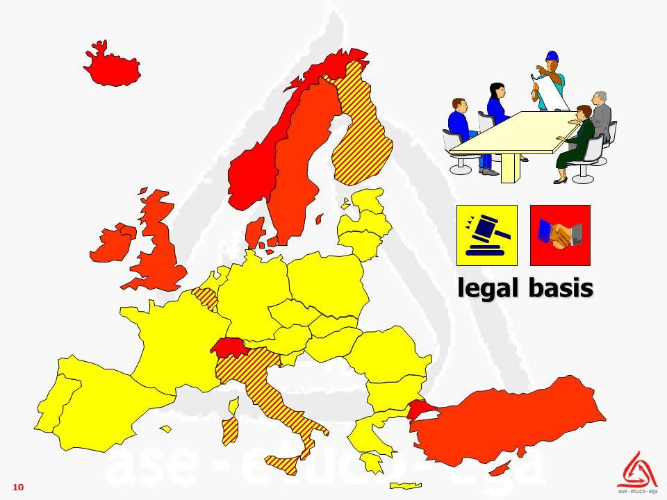 10 legal basis