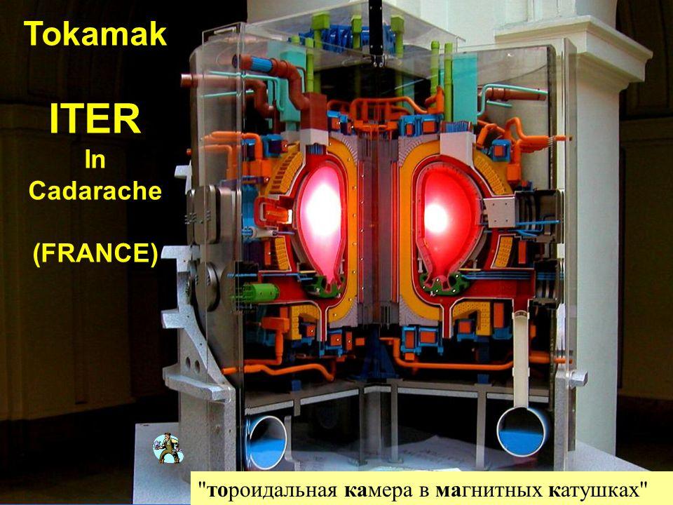 Tokamak ITER In Cadarache (FRANCE)