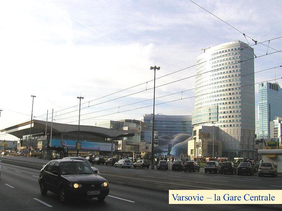 Varsovie – la Gare Centrale