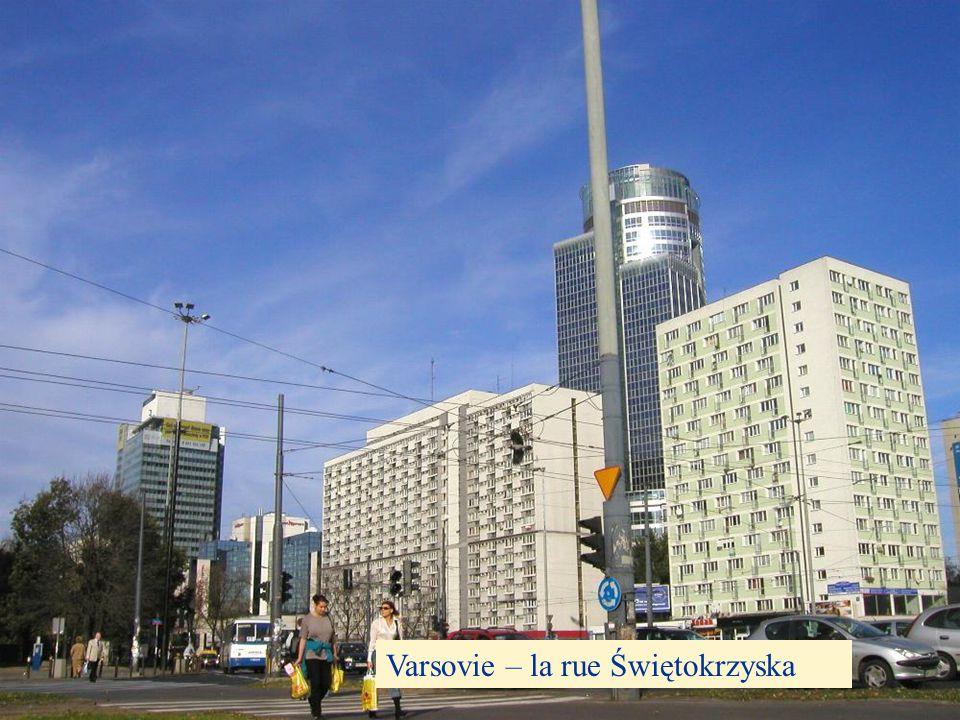 Varsovie – la rue Świętokrzyska