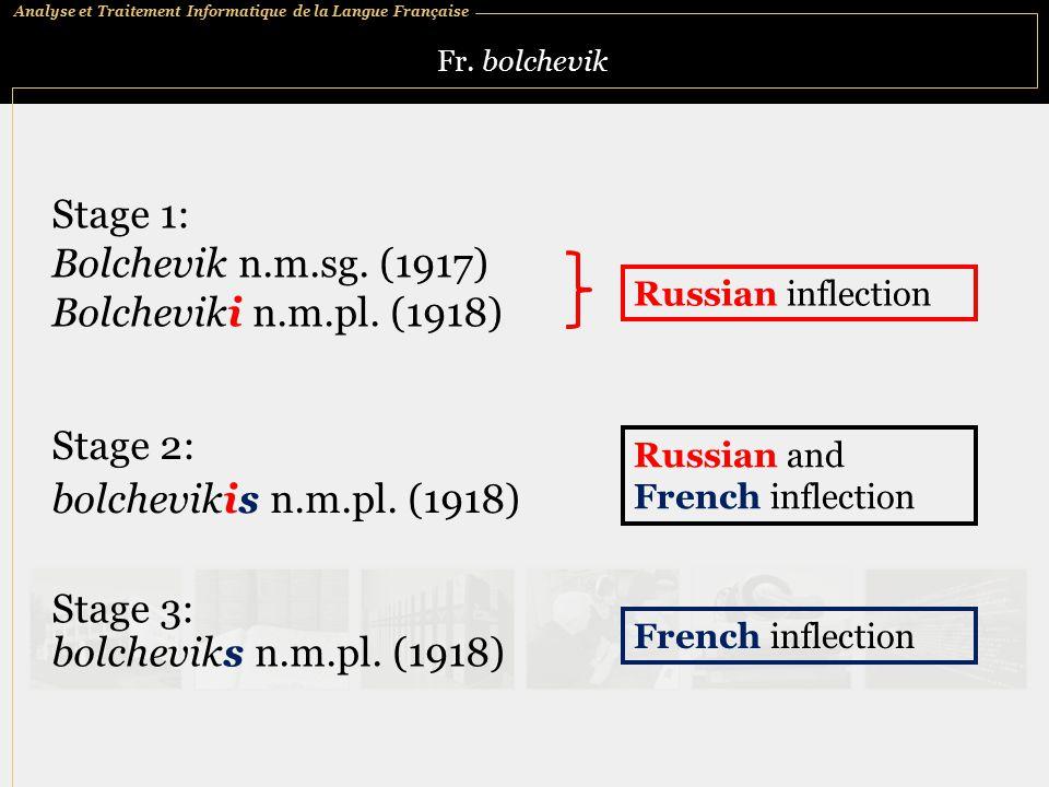 Analyse et Traitement Informatique de la Langue Française Fr.