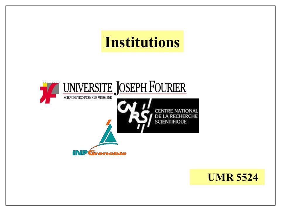 Institutions UMR 5524