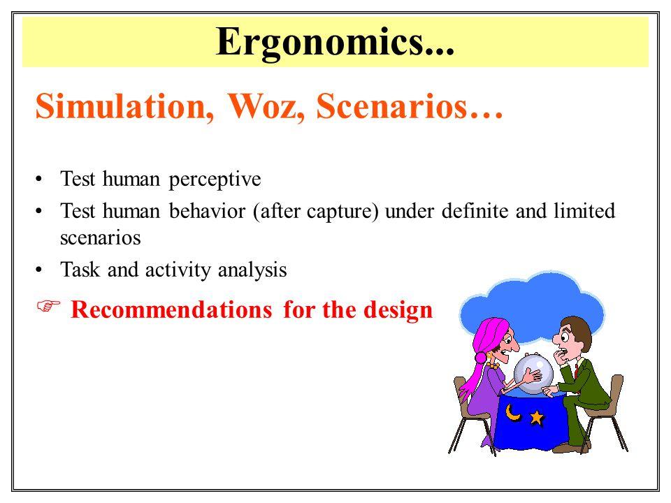 Ergonomics...