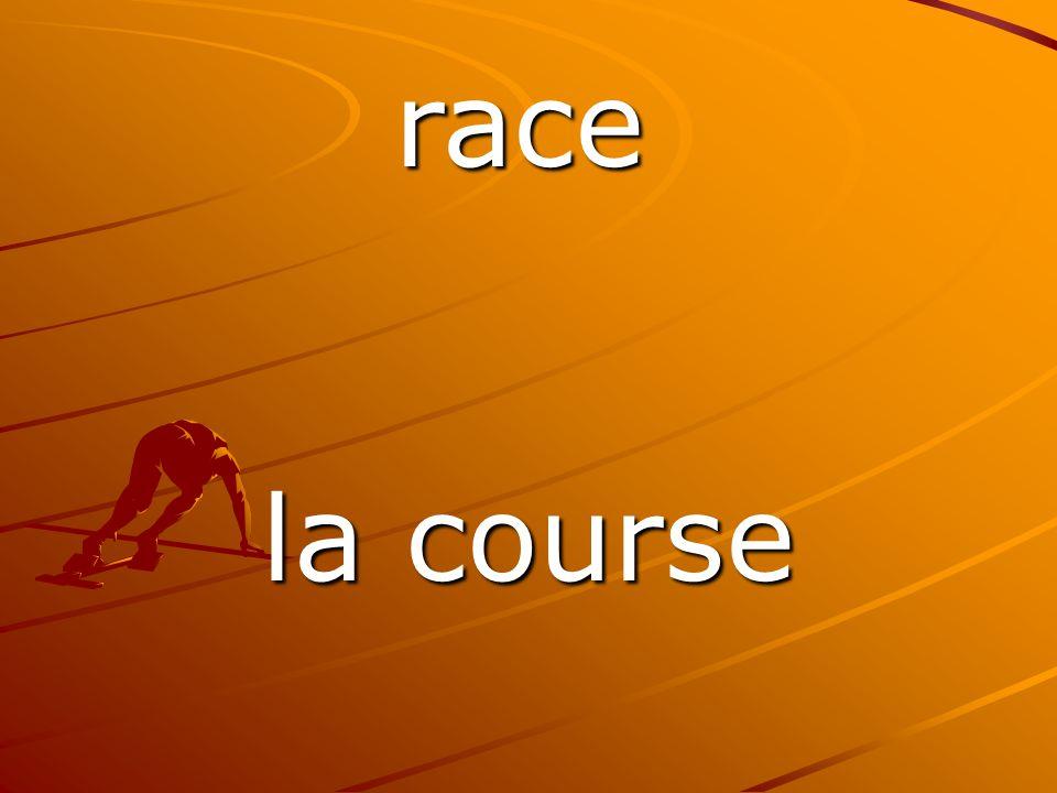 la course race