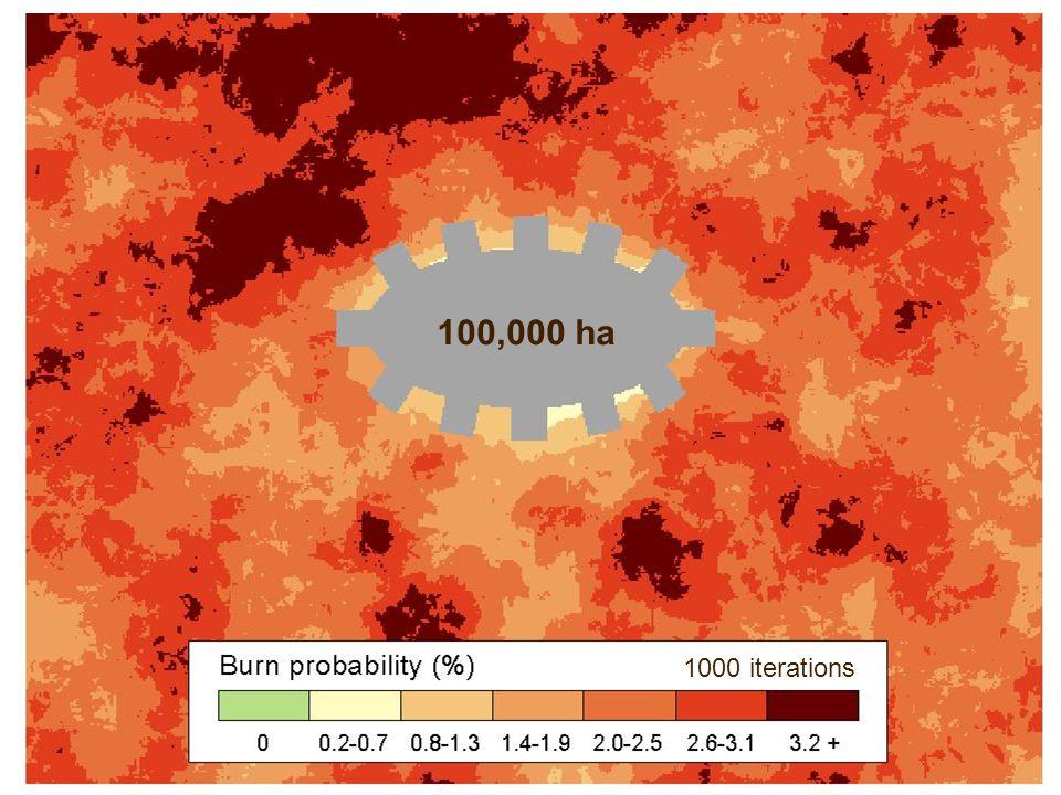 100,000 ha 1000 iterations
