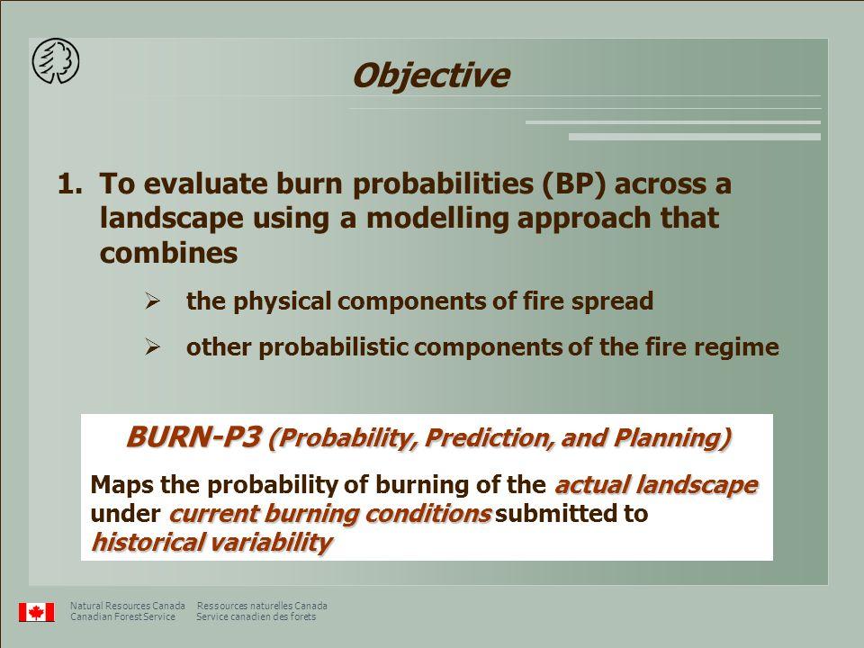 25 km Forest B Forest A Burn probability (%)