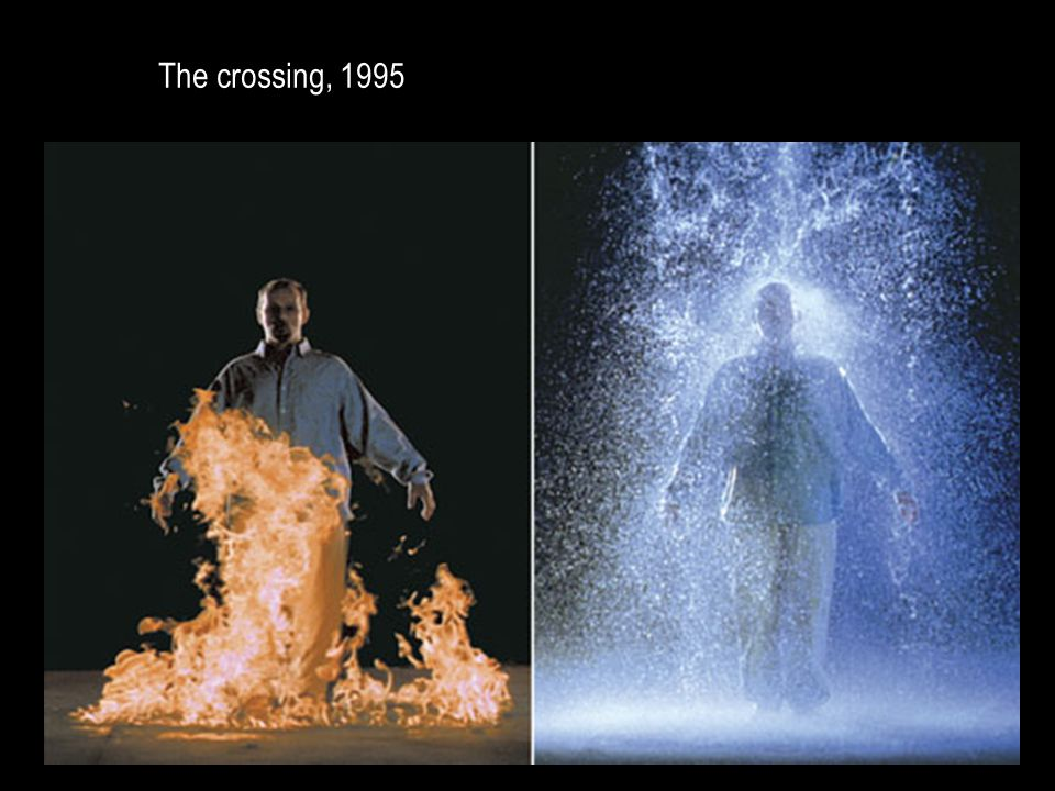 The crossing, 1995