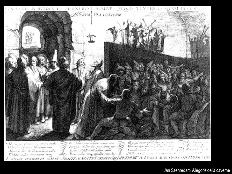 Jan Saenredam, Allégorie de la caverne