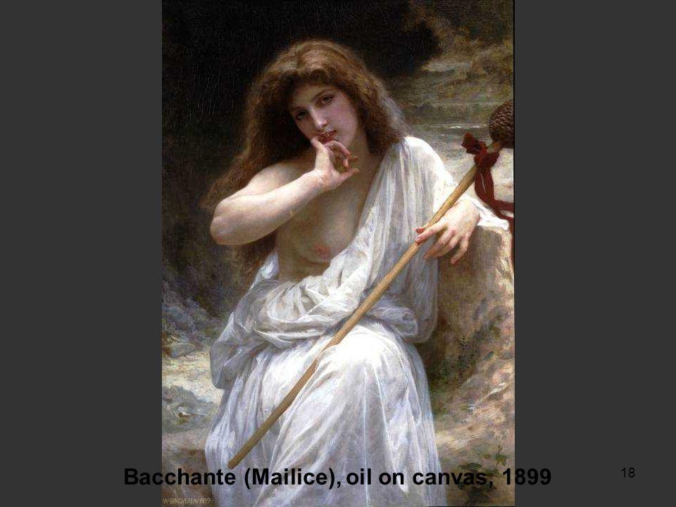 17 Jeune Fille Allant a la Fontaine, oil on canvas, 1885 A la Fontaine, oil on canvas, 1897