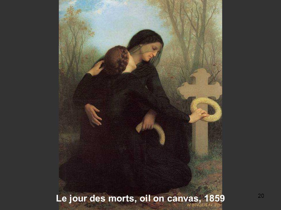19 Les Remords d'Oreste, oil on canvas, 1862