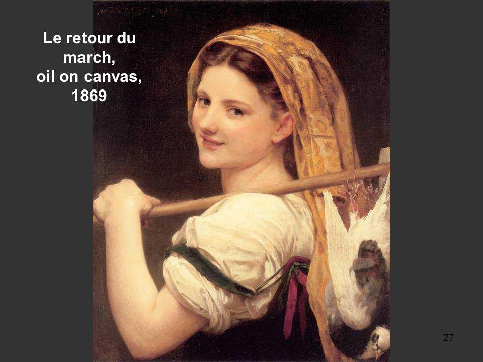 26 Pastourelle [Shepherdess], oil on canvas, 1889