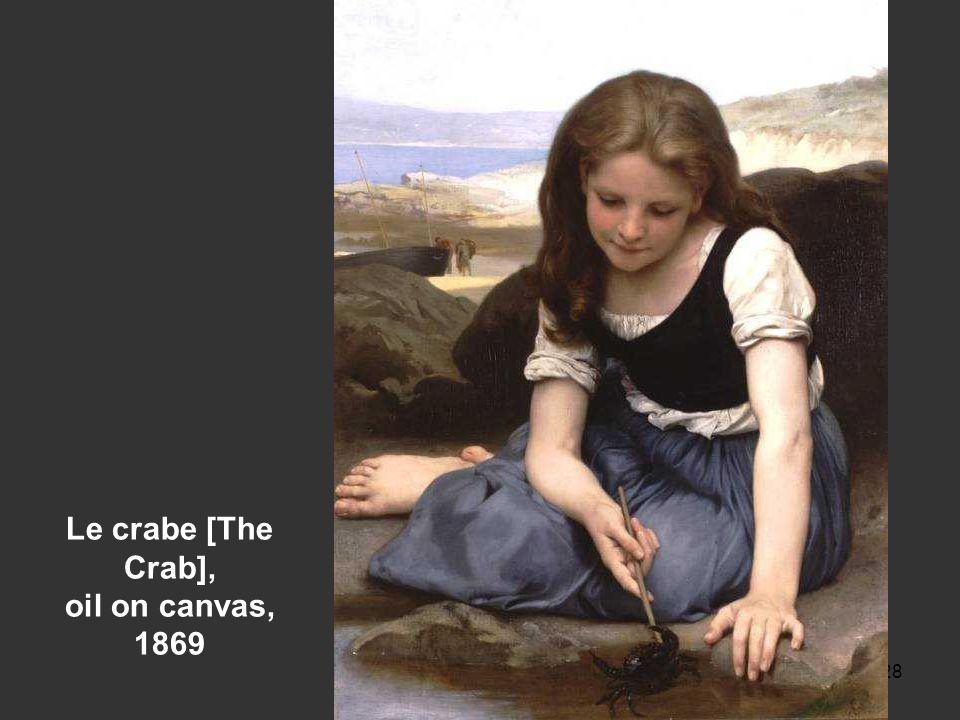 27 Le retour du march, oil on canvas, 1869