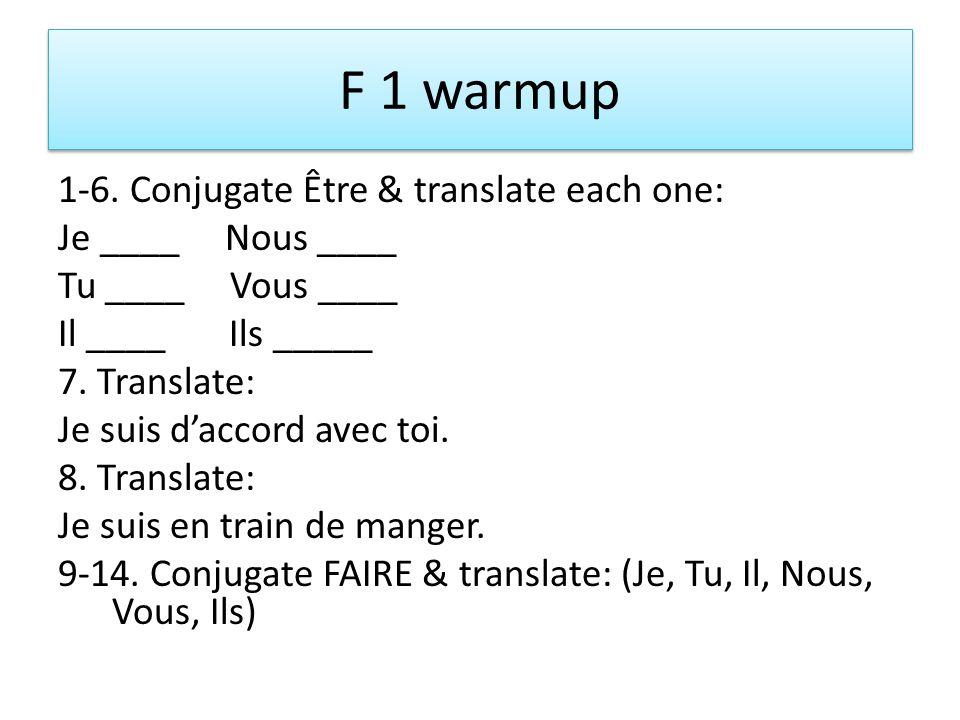 F 1 warmup 1-6.