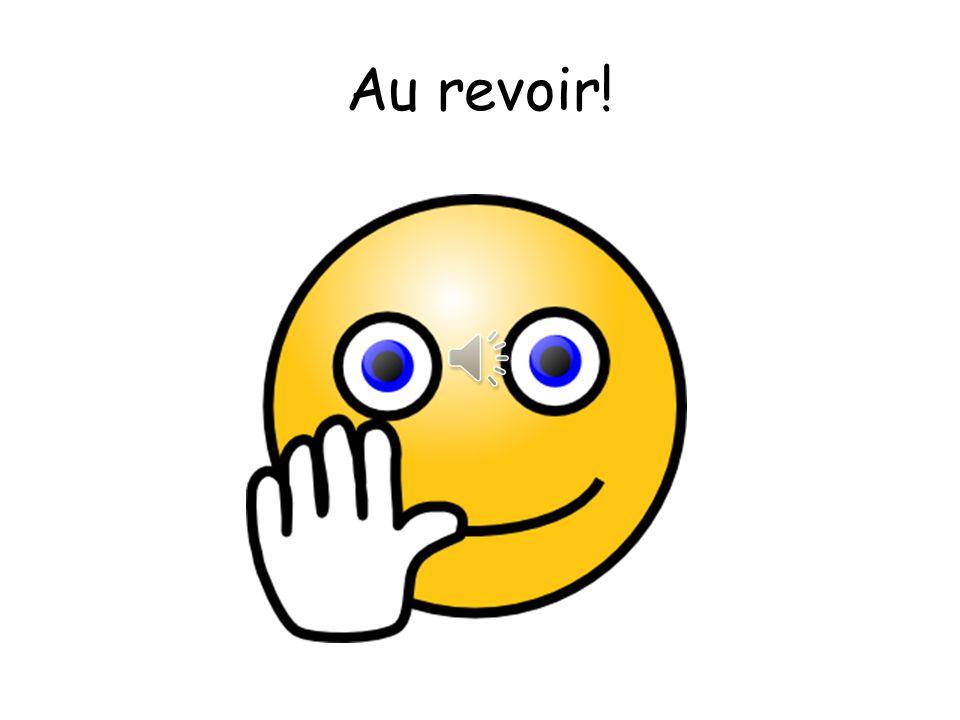 Au revoir! - song