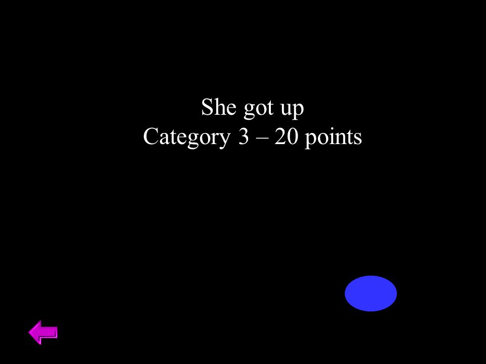 She got up Category 3 – 20 points