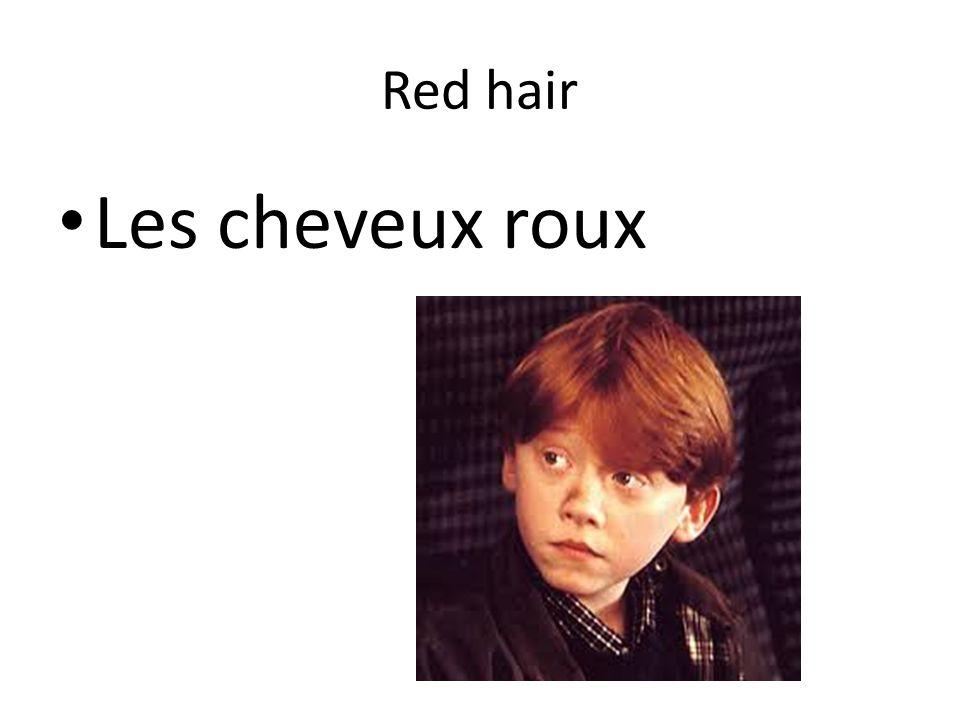 Red hair Les cheveux roux
