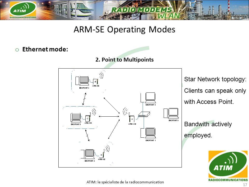 o Ethernet mode: 2.