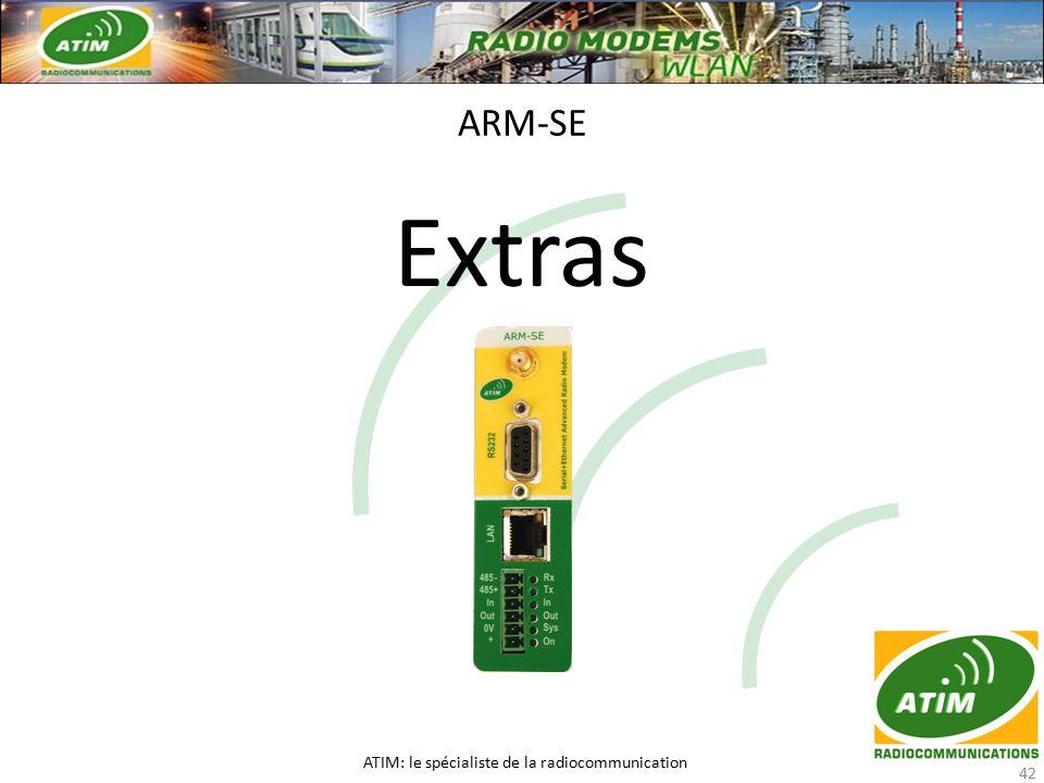 Extras ARM-SE ATIM: le spécialiste de la radiocommunication 42