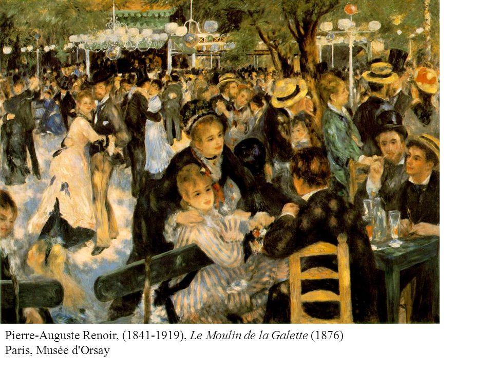 Pierre-Auguste Renoir, (1841-1919), Le Moulin de la Galette (1876) Paris, Musée d Orsay