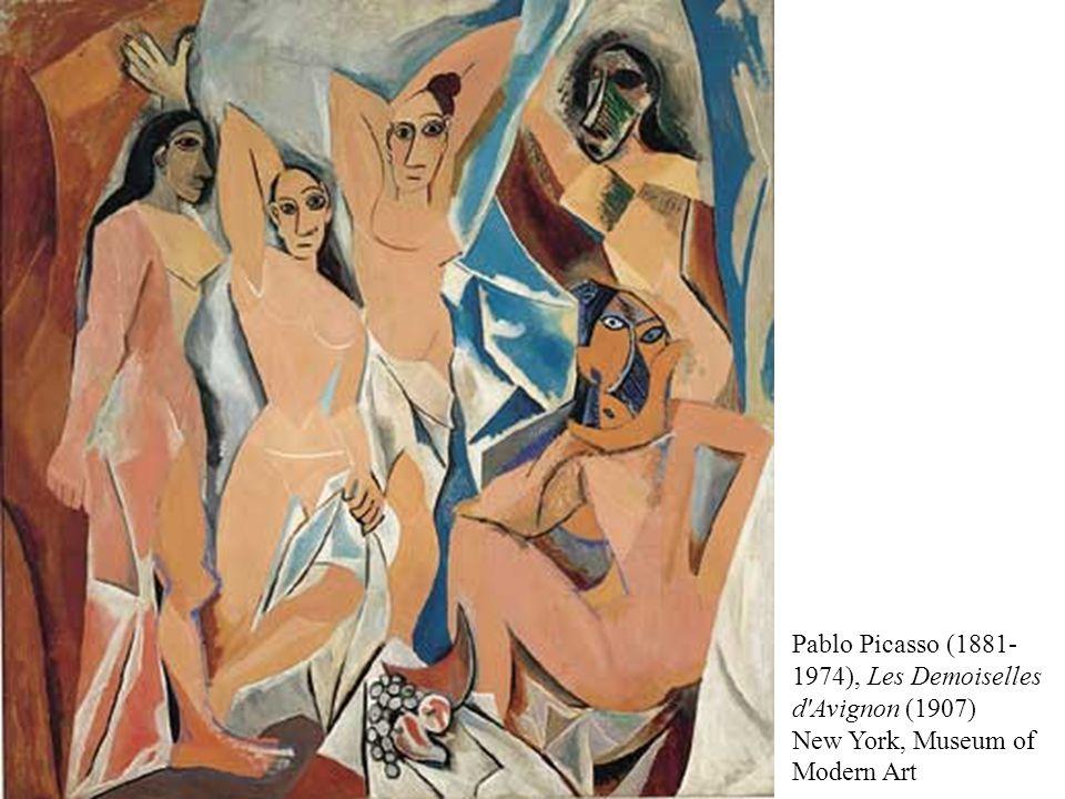 Pablo Picasso (1881- 1974), Les Demoiselles d Avignon (1907) New York, Museum of Modern Art