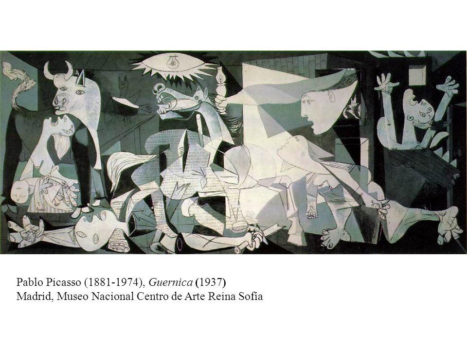 Pablo Picasso (1881-1974), Guernica (1937) Madrid, Museo Nacional Centro de Arte Reina Sofía
