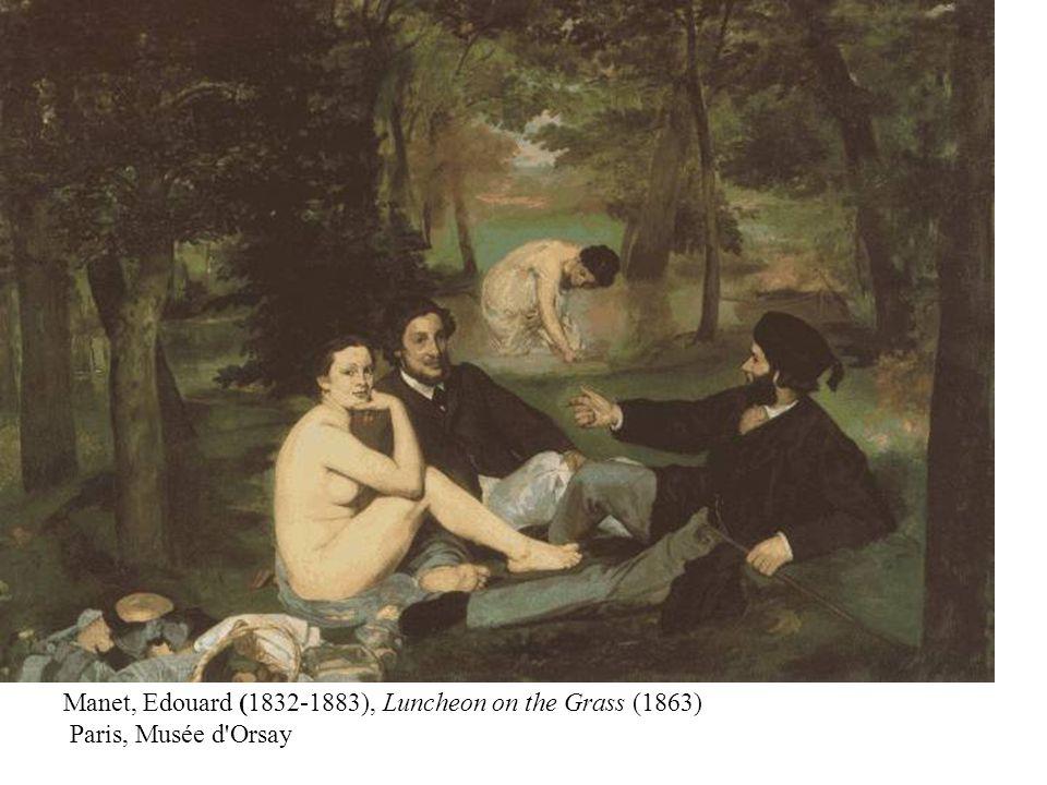 Claude Monet (1840-1926), The River, Bennecourt (1868) The Art Institute of Chicago