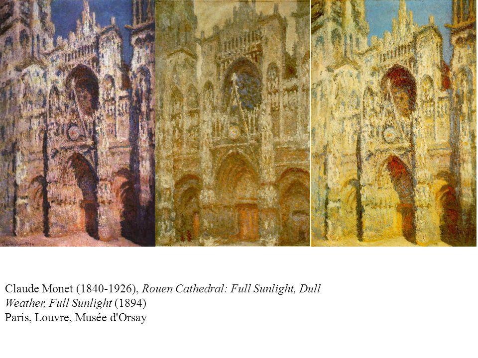 Claude Monet (1840-1926), Rouen Cathedral (1894) Boston, Museum of Fine Arts