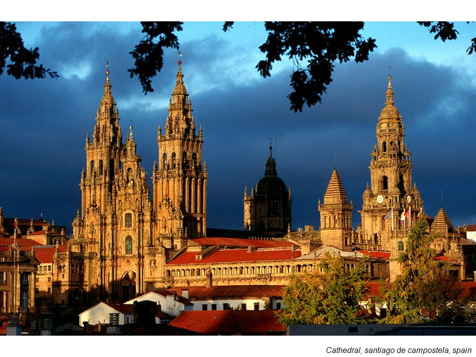 Cathedral, santiago de campostela, spain