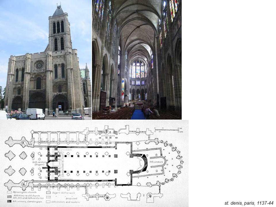 st. denis, paris, 1137-44