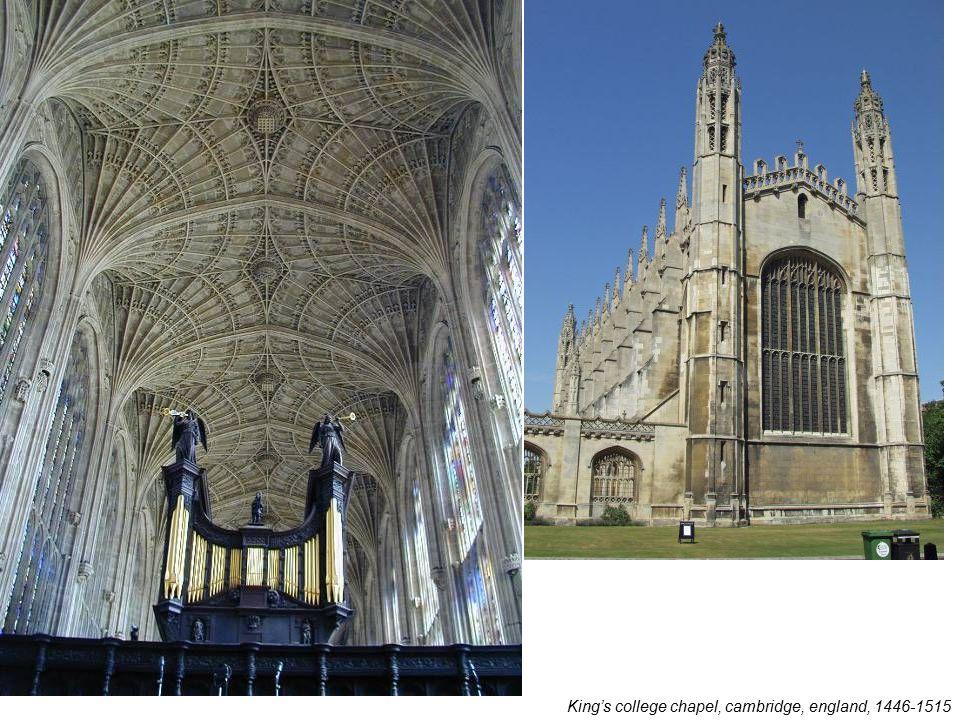 King's college chapel, cambridge, england, 1446-1515