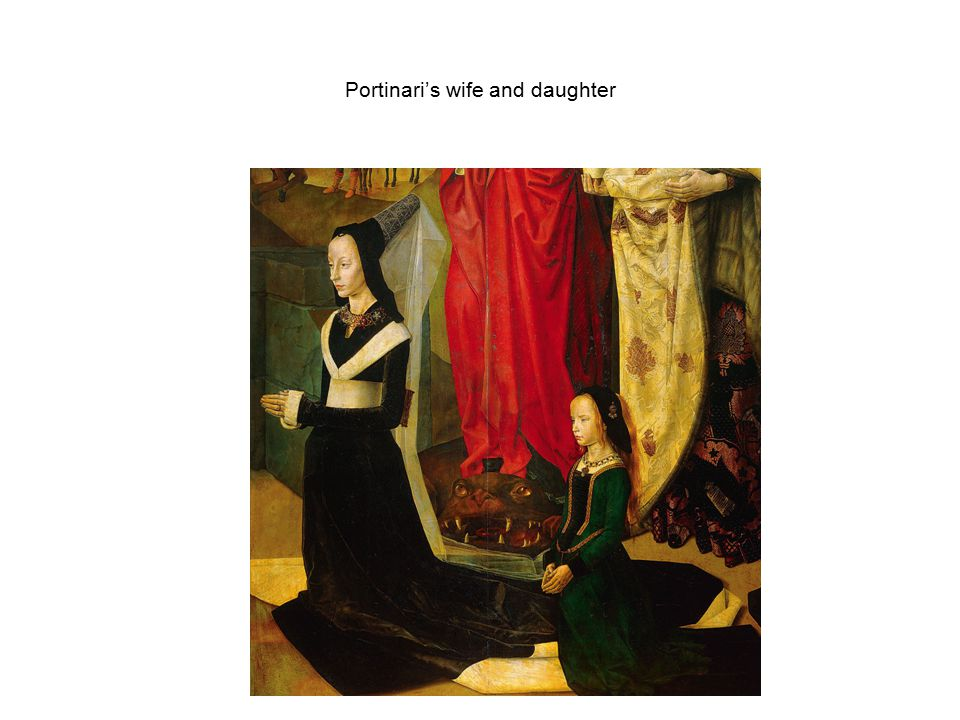 Portinari's wife and daughter