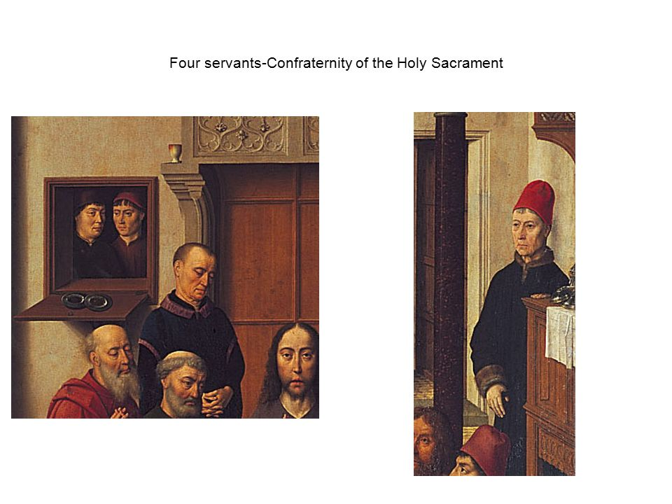 Four servants-Confraternity of the Holy Sacrament