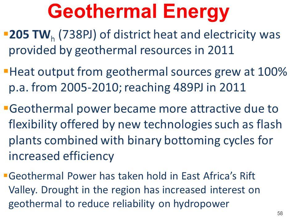 57 Geothermal Energy