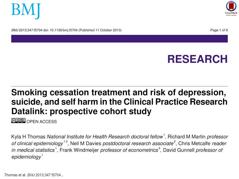 Thomas et al. BMJ 2013;347:f5704..