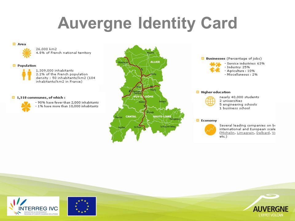 Auvergne Identity Card