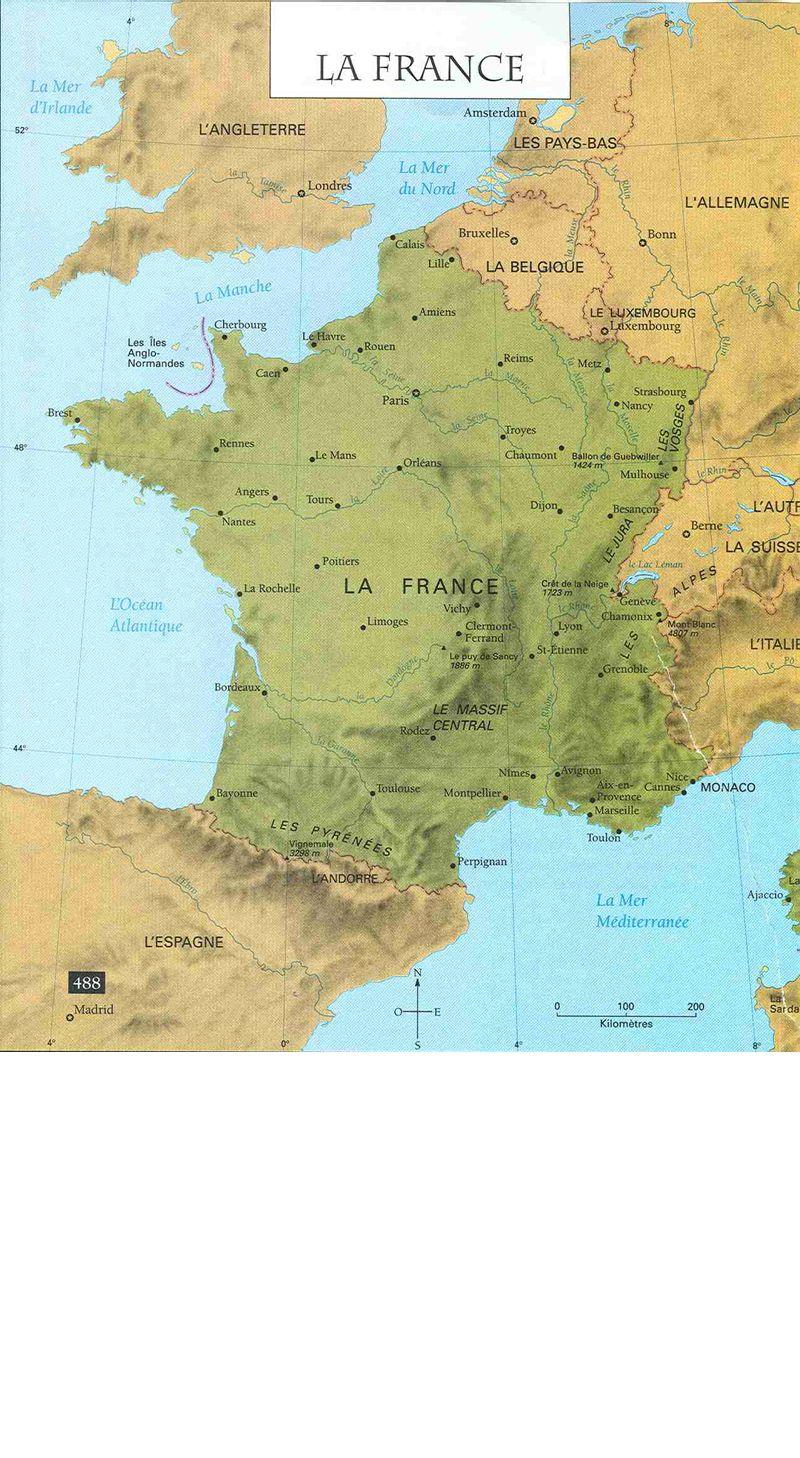 Les villes de France ● ● ● ● ● ● ● ● ● ● Paris Le Havre Marseille Lyon Lille Toulouse Brest Bordeaux Orléans Strasbourg Rennes ● ● Grenoble Nice ● Avignon ●