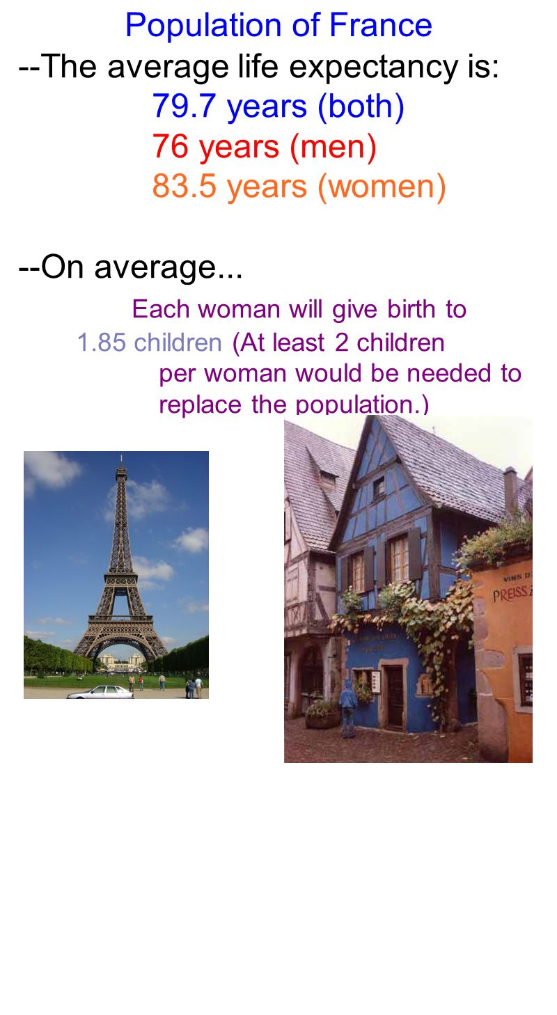 Population of France --The religions practiced in France include: Roman Catholicism (83 - 88%) Protestantism (2%) Jewish (1%) Muslim (5% - 10%) --The government is a mix of executive and parlimentary style.