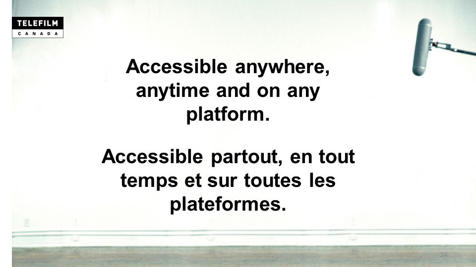 Accessible anywhere, anytime and on any platform.