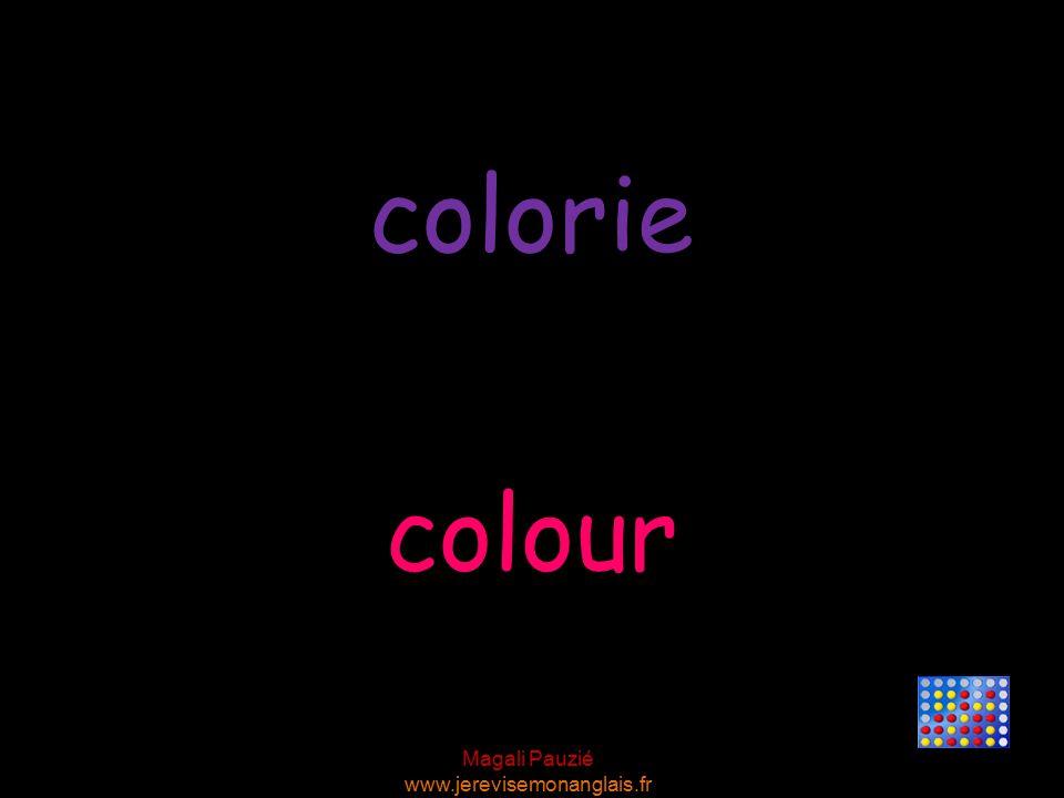 Magali Pauzié www.jerevisemonanglais.fr colour colorie