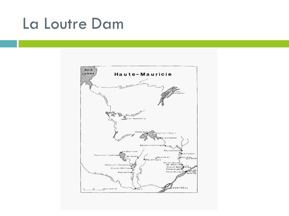 La Loutre Dam