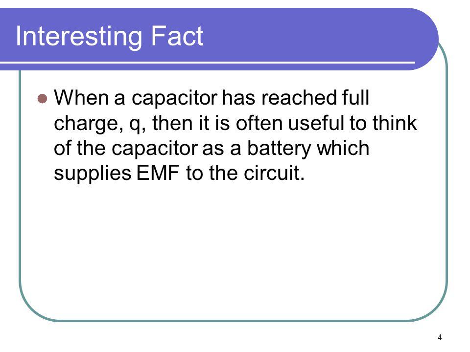 5 Simple Circuit S H L Initially, H & L =0 +q i -i -q After S is closed, H=+q L=-q