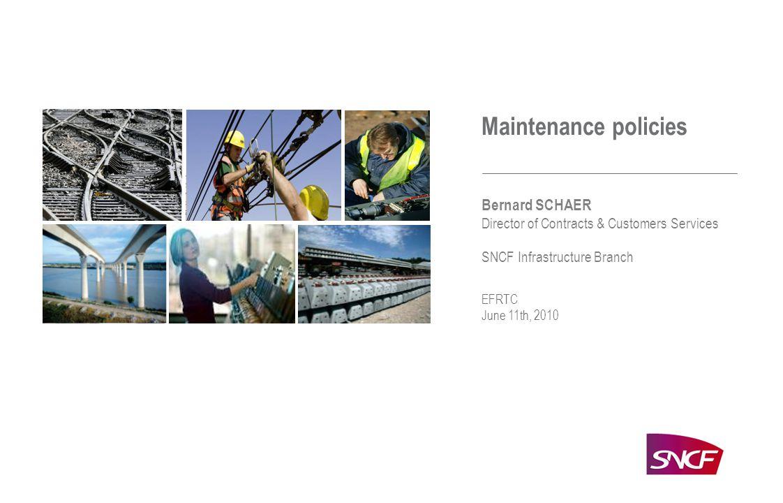 1 | SNCF INFRASTRUCTURE BRANCH